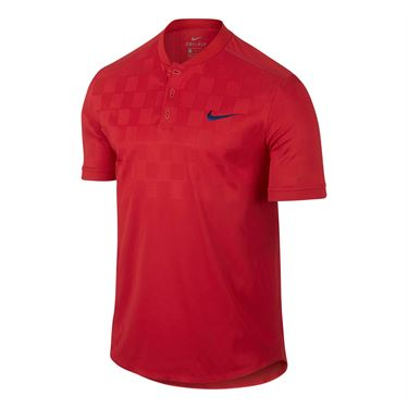 Nike Court Dry Advantage Polo - Action Red