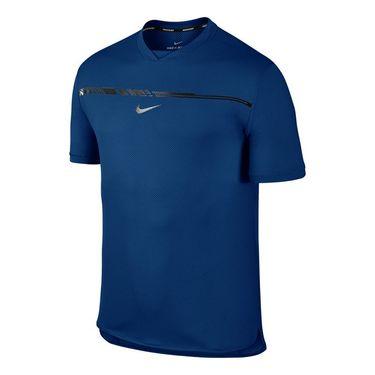 Nike Court Rafa Challenger Crew - Blue Jay
