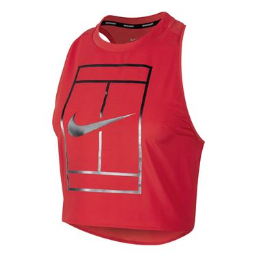 Nike Court Tennis Tank - Action Red