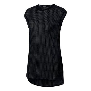 Nike Dry Short Sleeve Tunic - Black