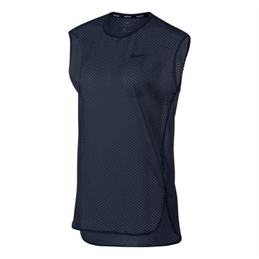 Nike Court Dry Tennis Top - Midnight Navy