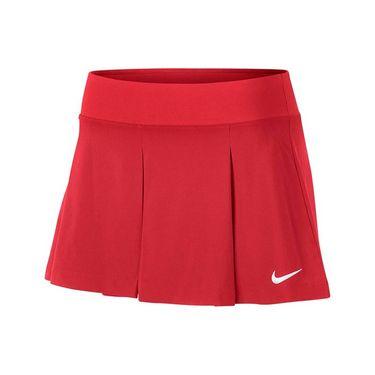 Nike Court Flex Pleat Skort - Action Red