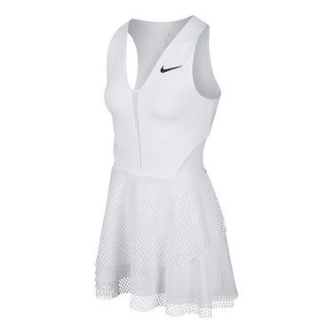 Nike Court Power Tennis Dress - White