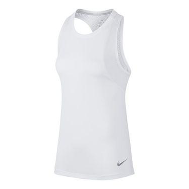 Nike Dry Miler Running Tank - White