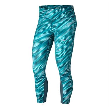 Nike Power Epic Running Crop - Turbo Green