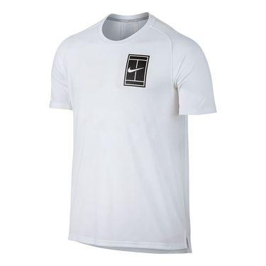 Nike Court Breathe Crew - White