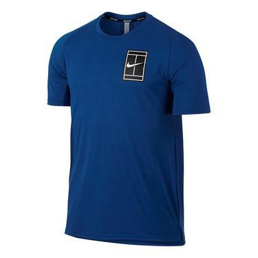 Nike Court Breathe Crew - Blue Jay