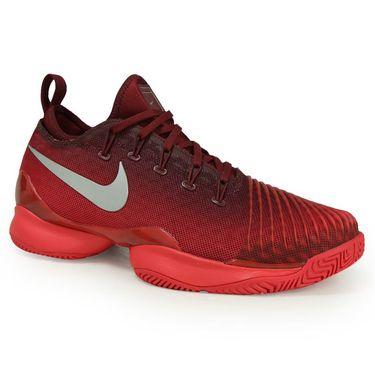 Nike Air Zoom Ultra React Womens Tennis Shoe - Team Red/Metallic Silver/Siren Red