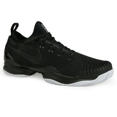 Nike Air Zoom Ultra React Mens Tennis Shoe - Black/White
