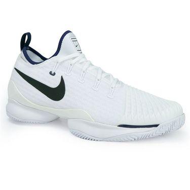 Nike Air Zoom Ultra React Mens Tennis Shoe - White/Binary Blue
