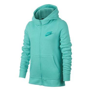 Nike Girls Sportswear Hoodie - Light Aqua