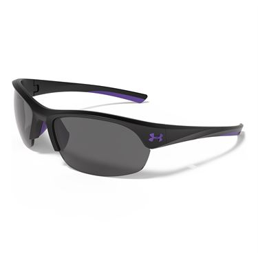 Under Armour Marbella Sunglasses - Satin Black (Frames) Gray Multiflection (Lenses)