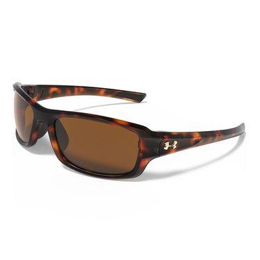 Under Armour Edge Sunglasses - Shiny Tortoise (Frames) Brown (Lenses)