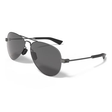Under Armour Getaway Sunglasses - Satin Gunmetal (Frames) Gray (Lenses)