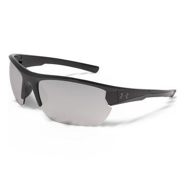 Under Armour Propel Sunglasses - Shiny Black (Frames) Game Day/Chrome Multiflection (Lenses)