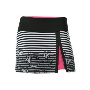 Bolle Isabella Front Slit Skirt - White/Black