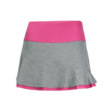 Bolle Daniela Asymmetrical Flounce Skirt - Graphite
