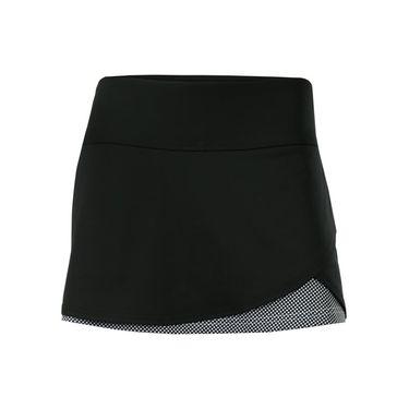 Bolle Bella Front Overlap Skirt - Black
