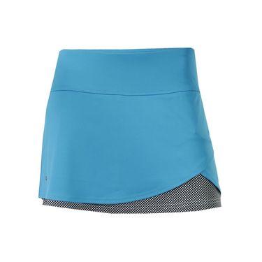 Bolle Bella Front Overlap Skirt - Vivid Blue