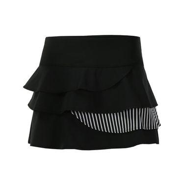 Bolle Genevieve Layered Flounce Skirt - Black