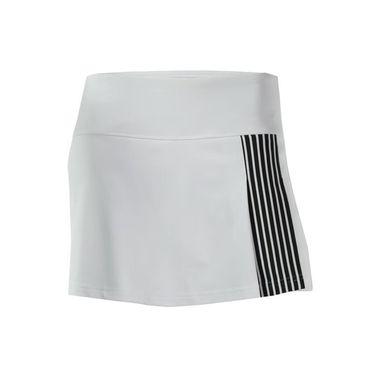 Bolle Genevieve Classic 3 Pleat Skirt - White