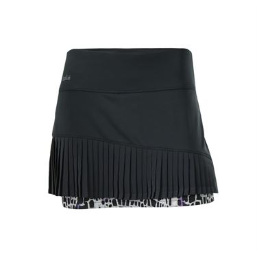 Bolle Gianna Asymmetrical Pleated Skirt - Graphite
