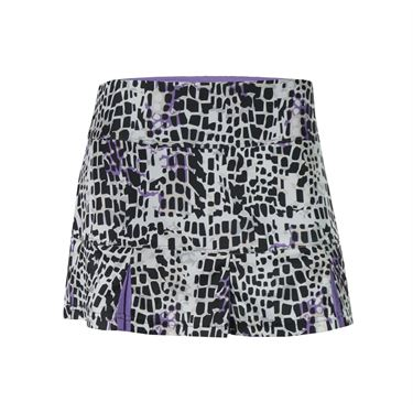 Bolle Gianna Printed Pleated Skirt - Graphite