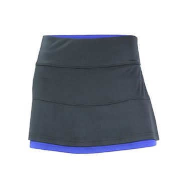 Bolle Adrienne Back Pleated Skirt - Graphite