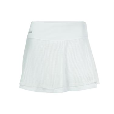 Bolle Sofia Mesh Flowy Skirt - White