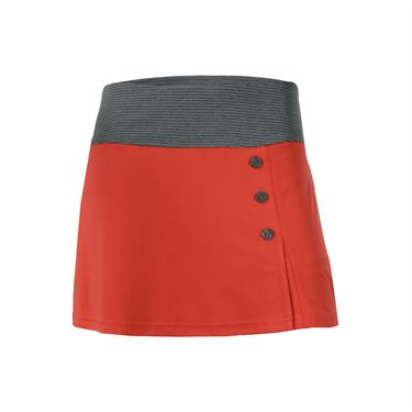 Bolle Margaux Button Skirt - Orange