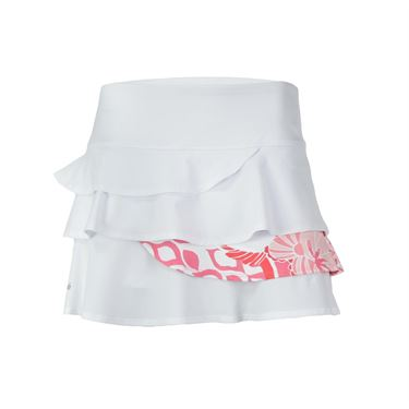 Bolle Valentina Layered Flounce Skirt - White