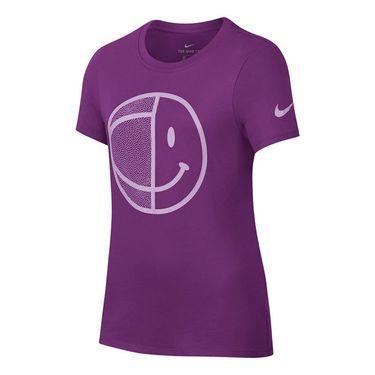 Nike Girls Dry Tee - Bold Berry