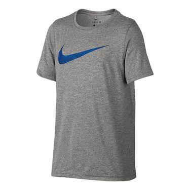 Nike Boys Dry Training Tee - Dark Grey Heather