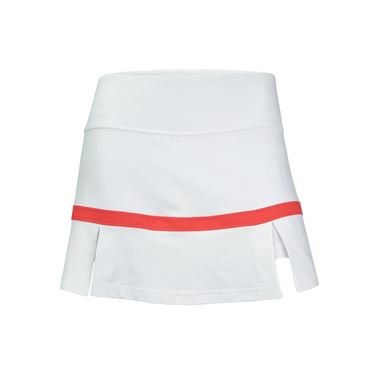 Bolle Confetti Side Pleat Skirt - White