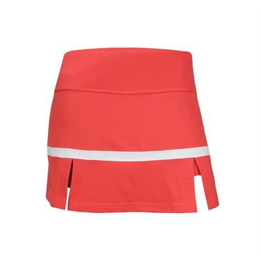 Bolle Confetti Side Pleat Skirt - Coral