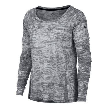 Nike Breathe Long Sleeve Training Top - Black