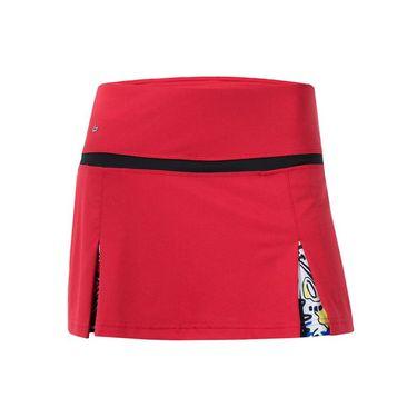 Bolle Graffiti Double Slit Skirt - Bolle Red