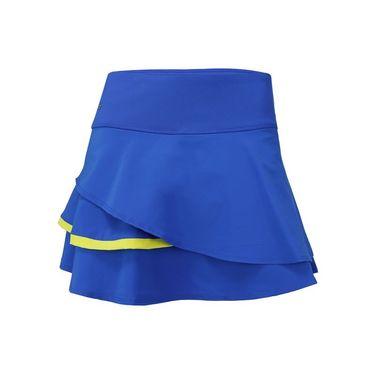 Bolle Sapphire Layered Flounce Skirt - Cobalt