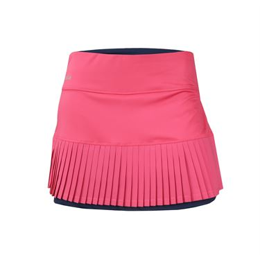 Bolle Tulip Fields 14 Inch Pleated Skirt - Tulip