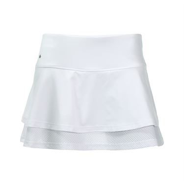 Bolle Club Whites Flounce Skirt - White