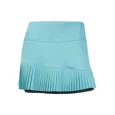 Bolle Aquarius Asymmetrical Pleated Skirt - Aqua