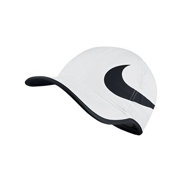 Nike Aerobill Feather Light Swoosh Hat - White
