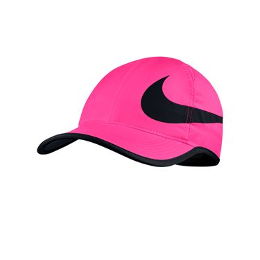 Nike Aerobill Feather Light Swoosh Hat - Hyper Pink/Black