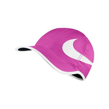 Nike Aerobill Feather Light Swoosh Hat - Fire Pink