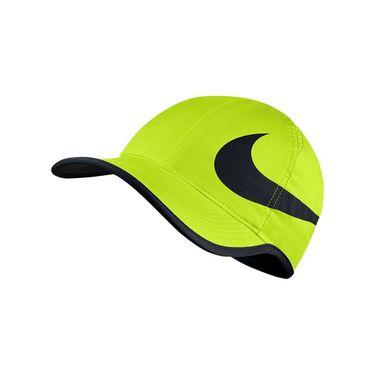 Nike Aerobill Feather Light Swoosh Hat - Volt/Black