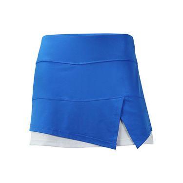 Bolle Kaleidoscope Front Slit Skirt - Teal