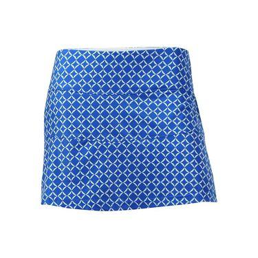 Bolle Kaleidoscope Printed A Line Skirt - Teal