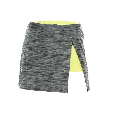 Bolle Melange Front Slit Skirt - Graphite Heather