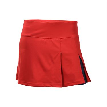 Bolle All American Front Slit Skirt - Bolle Red