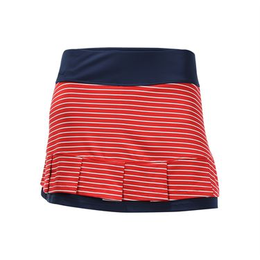 Bolle All American Pleated Skirt - Bolle Red